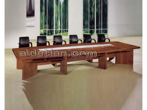 广东椭圆简约现代小型职员组合桌椅