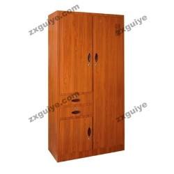 更衣柜带锁储物柜偏二屉多用柜