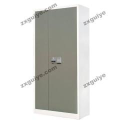 北京中迅电子锁对开铁门文件柜