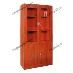 文件柜铁皮柜平开门书柜(转印)