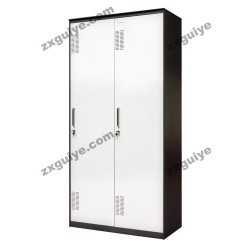 档案柜铁皮柜资料柜通体玻璃平开柜