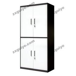 档案柜铁皮柜资料柜对开四门柜