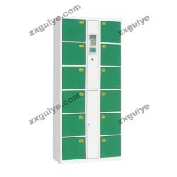 电子存包柜24门超市条码扫描储物寄包柜
