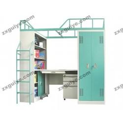 北京双层铁床职员工宿舍高架床