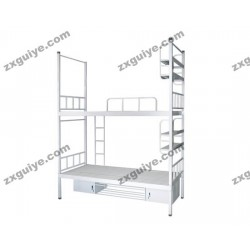 北京中迅档案高低床员工宿舍双人床