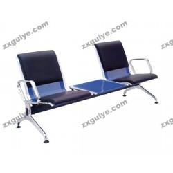 北京中迅档案排椅不锈钢机场椅