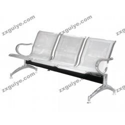 北京中迅不锈钢机场椅候诊椅等候椅