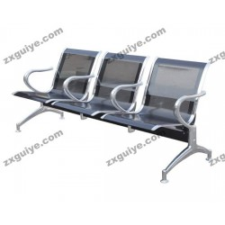 北京中迅三人位排椅医院候诊椅