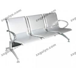 北京中迅三人位排椅医院候诊椅输液椅