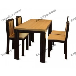 北京餐厅桌椅学校学生餐桌椅