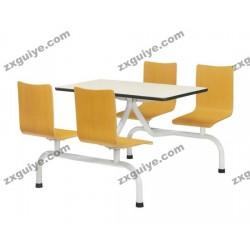 北京中迅档案设备快餐桌椅学校餐桌