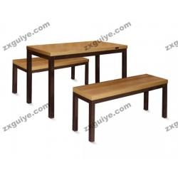 北京中迅员工食堂餐桌椅