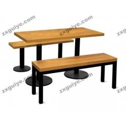 北京中迅档案设备学校员工食堂餐桌椅
