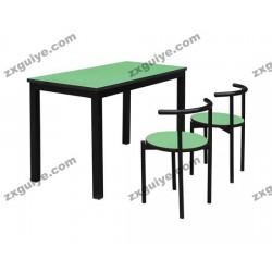北京中迅学校员工食堂餐桌椅