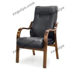 四脚实木办公家用电脑椅