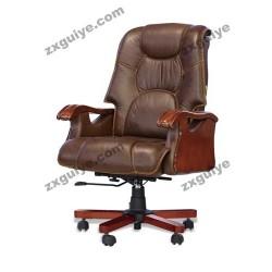 人体工学真皮可躺老板椅