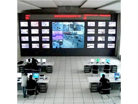 北京监控室拼接监控电视墙