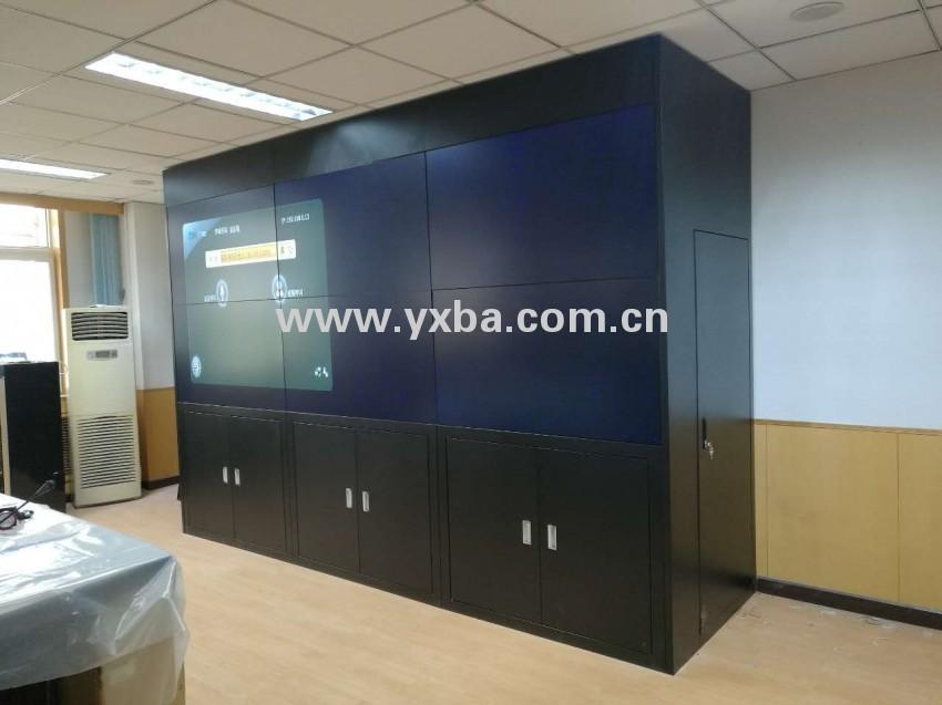 延庆镇政府 电视墙