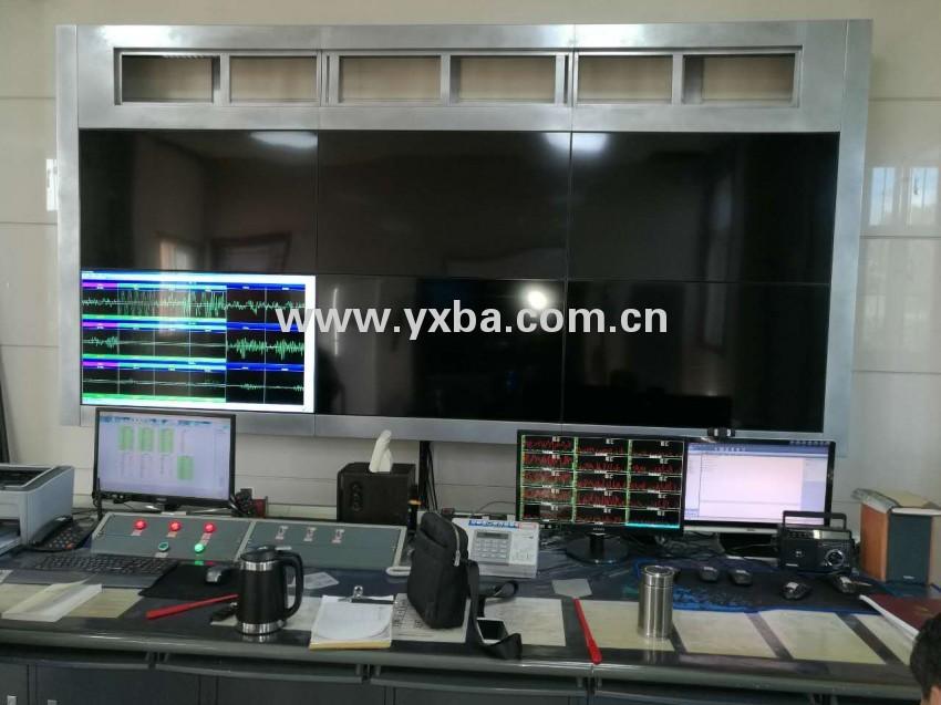 烟台市莱阳广播电台 电视墙