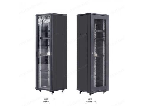 冷轧钢19英寸服务器 网络 机柜