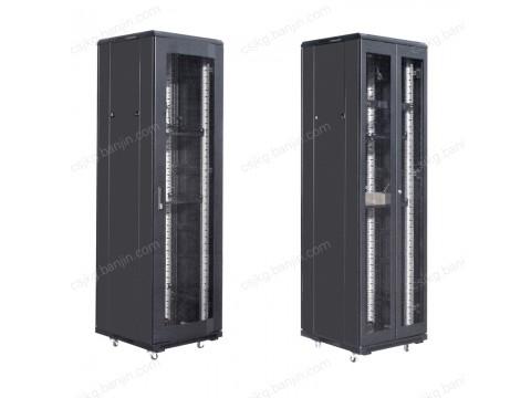 长沙网络机柜1米18监控机柜