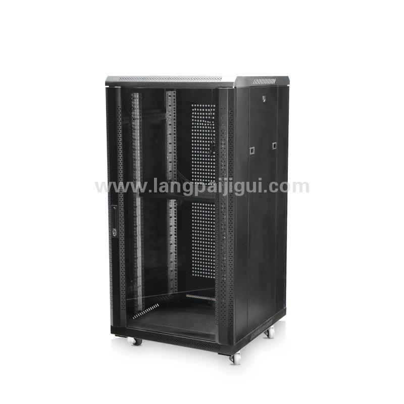 加厚F型网络机柜18U