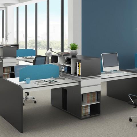 ZX-HS办公家具屏风卡位组合办公电脑桌02
