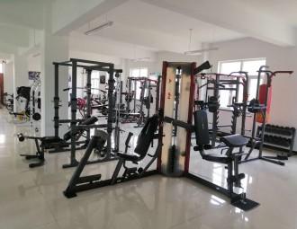 健身器材粉末喷房系统设备 (211播放)