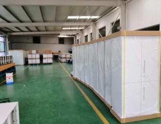 钢柜粉末喷房系统设备 (114播放)