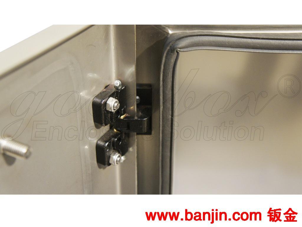 供应不锈钢gbtp紧装式一体柜 钣金加工 非标 定制 标准机箱 机柜图片